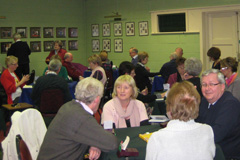A lively evening at the Bridge Centre